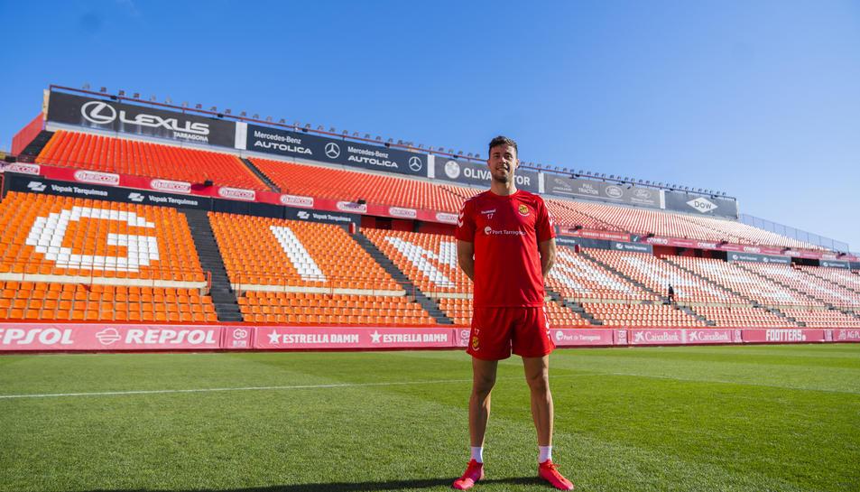 Pedro Martín sap que els seus gols seran importants en la lluita per l'ascens d'un Nàstic que ha crescut molt aquesta temporada.