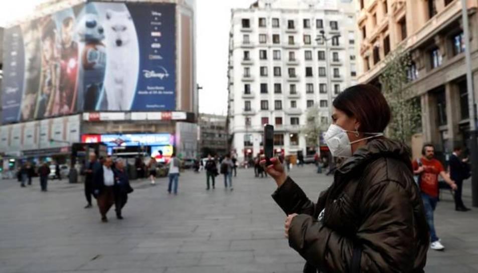 El Govern també ha anunciat el tancament perimetral de diverses zones bàsiques de salut a Madrid.