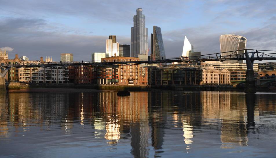 Imatge del centre de Londres