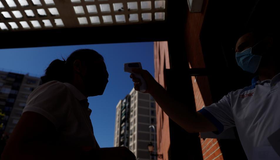 Madrid notifica 488 nous contagis i 13 morts per covid