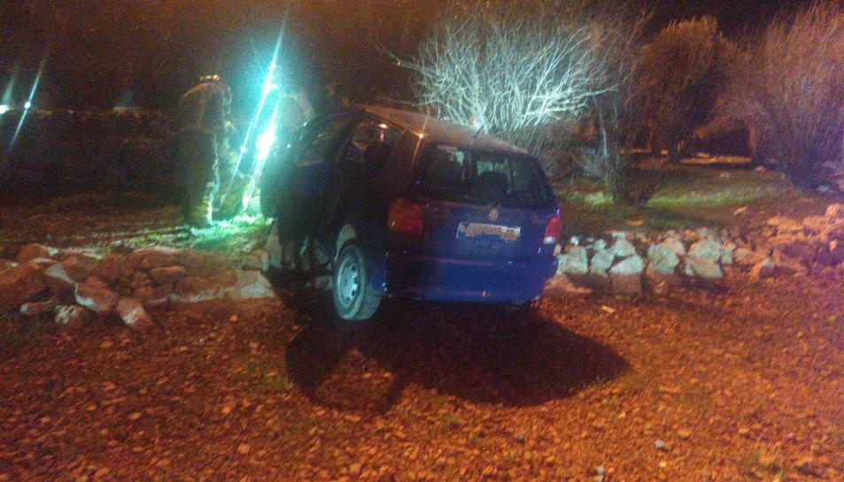 Imatge del vehicle que s'ha accidentat