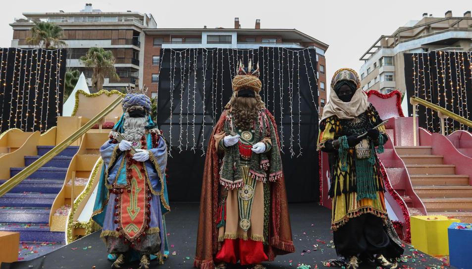 Els Reis d'Orient romanen al campament que els esperava a Reus.
