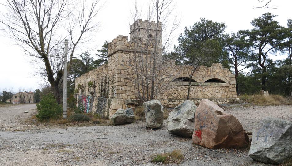 Imagen general del antiguo campamento militar de Los Castillejos, en el Baix Camp.