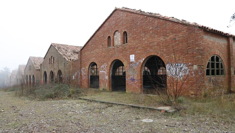 Imatge general de l'antic campament militar de Los Castillejos, al Baix Camp.