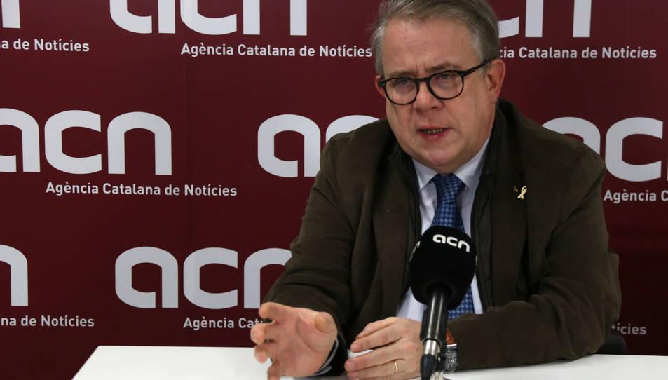 Jaume Padrós, el president del Col·legi de Metges de Barcelona.