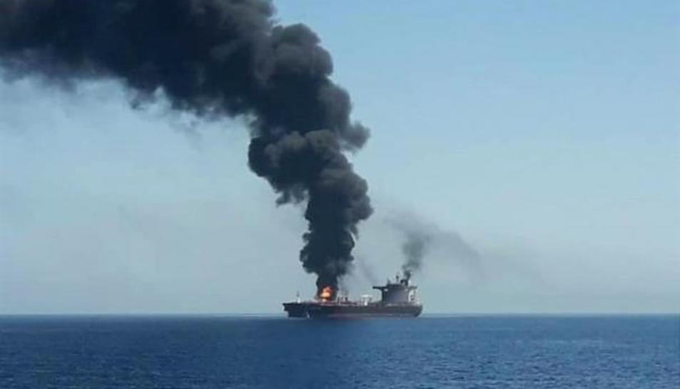 Un petrolier en una imatge d'arxiu.