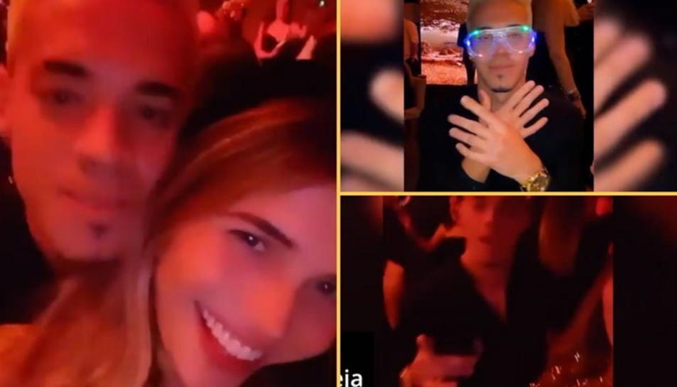 L'exjugador del Nàstic Josua Mejías ignora el protocol i celebra cap d'any a una discoteca