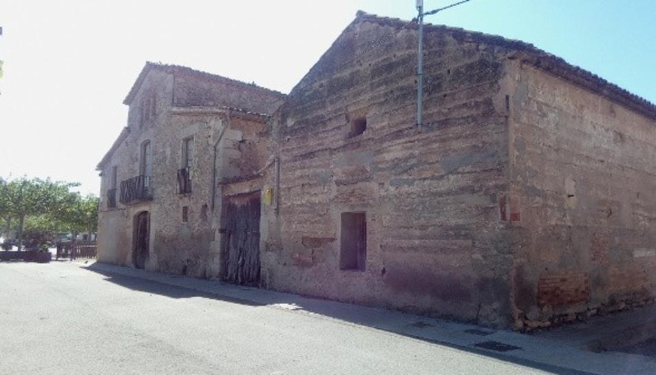 El futur Espai Avantva al poble del Poal, al Pla d'Urgell.