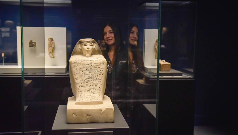 Imatge de l'exposició 'Faraó. Rei d'Egipte'.