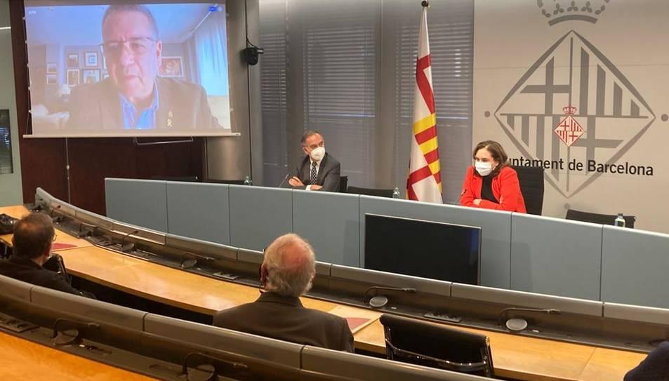 Els alcaldes de les capitals catalanes han presentat conjuntament la campanya.