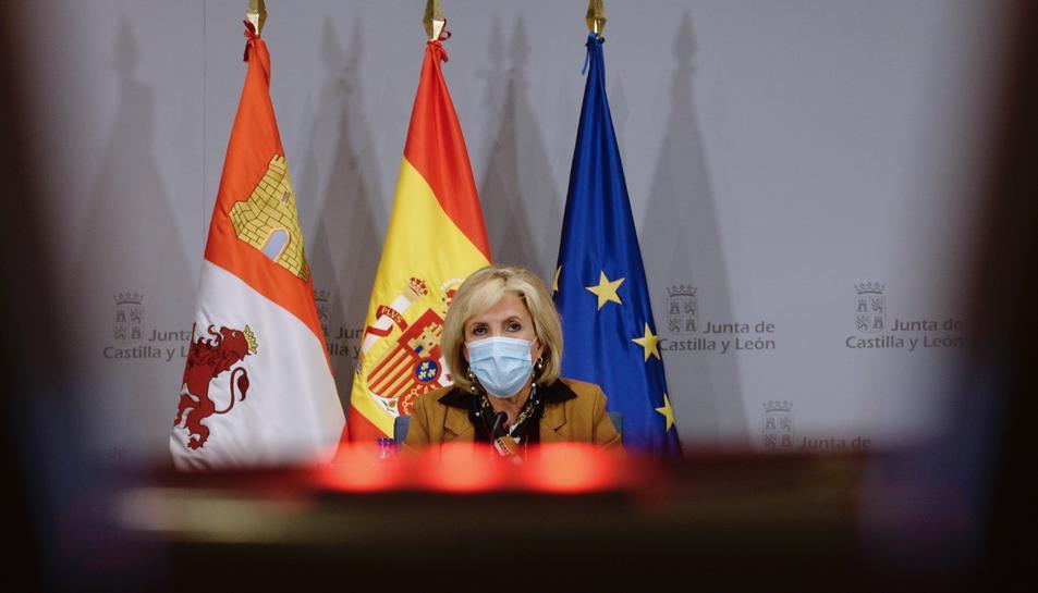La consellera de Sanitat de la Junta de Castella i Lleó , Verónica Casado.