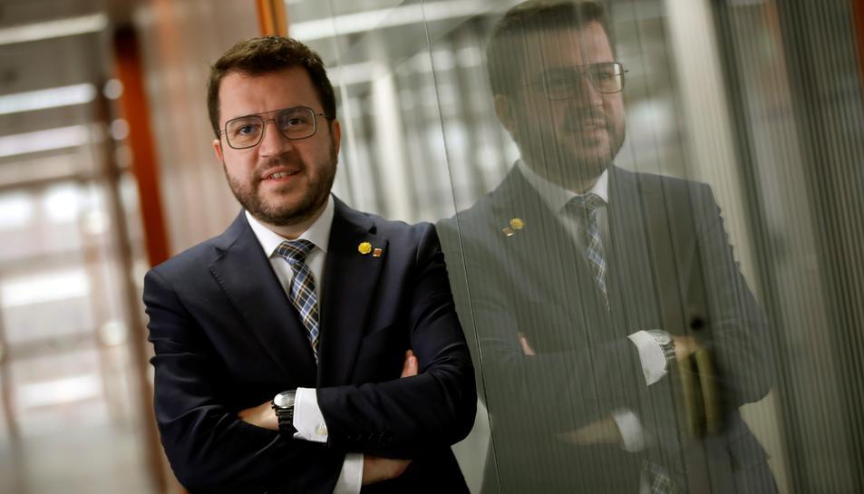 El vicepresident del Govern en funcions, Pere Aragonès.
