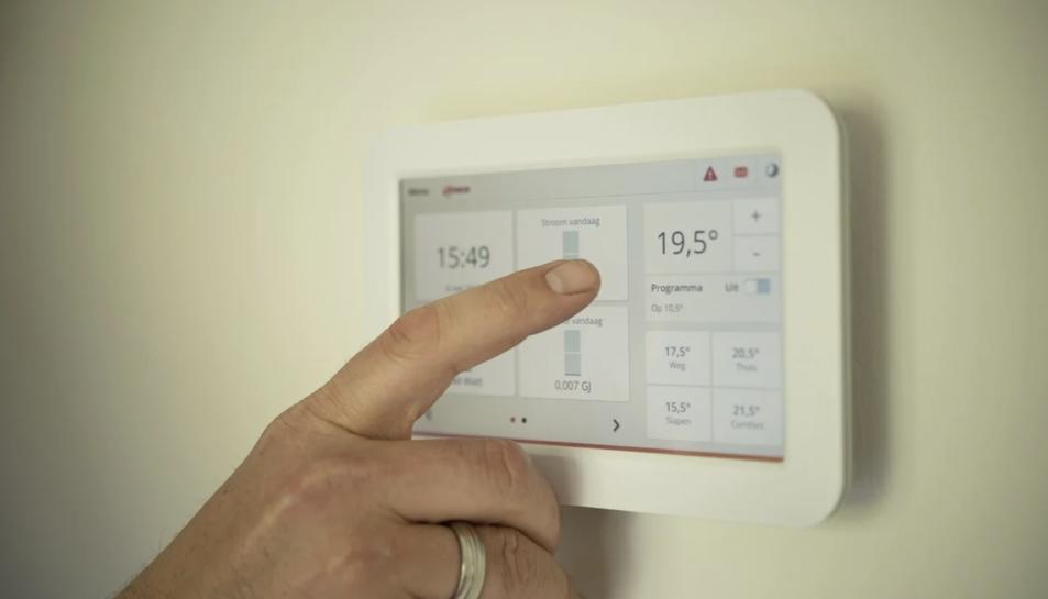 Imatge d'arxiu d'un termostat