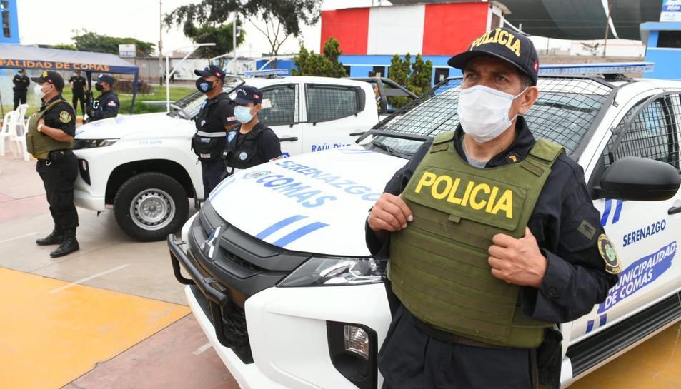 Imatge d'arxiu de la policia peruana.