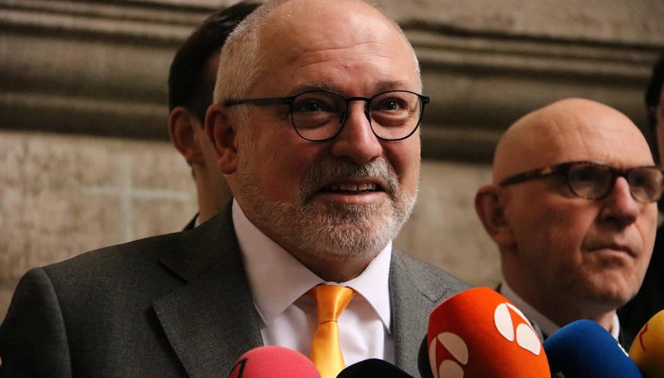 Imatge d'arxiu de l'exconseller Lluís Puig.
