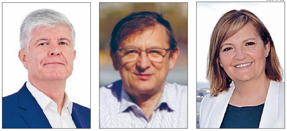 Matías Alonso, Pere Lluís Huguet i Carme Margalef.