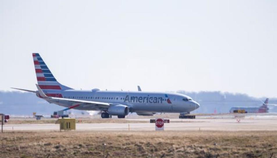 Un avió similar a l'accidentat, en una imatge d'arxiu.