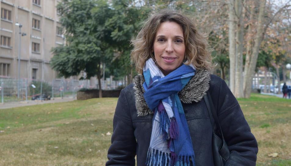 Àngels Chacón aquest divendres a Tarragona.