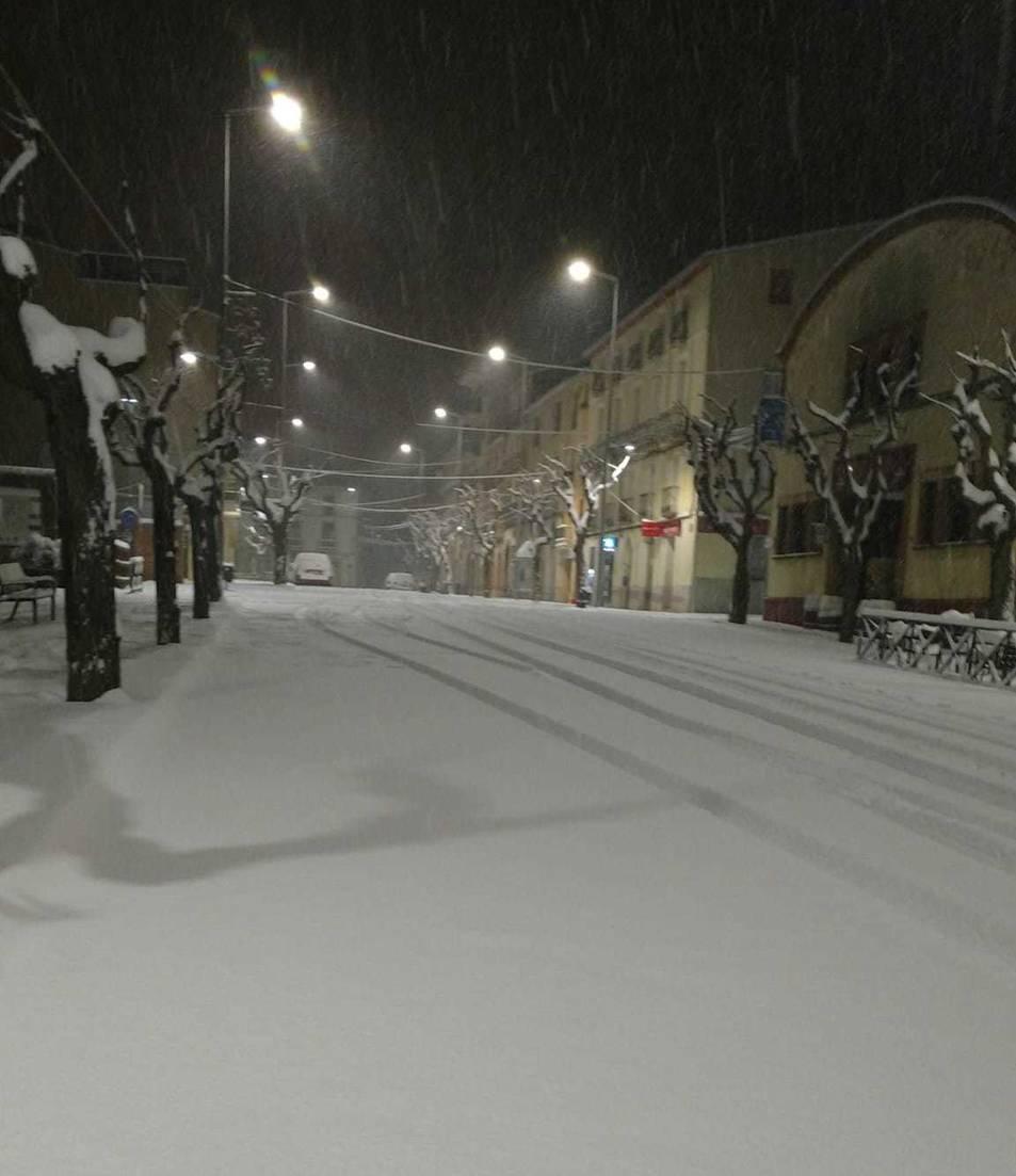 Falset sota la neu