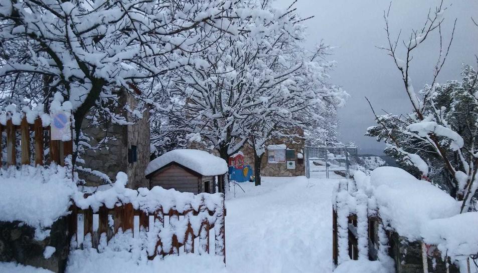 La nevada a Mont-ral