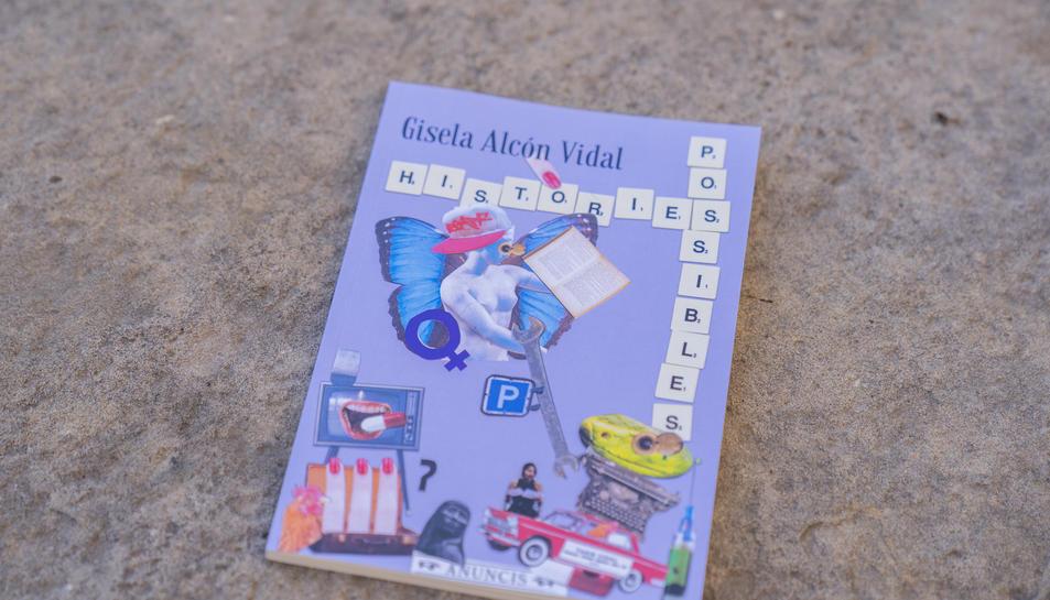 El collage que il·lustra la portada del llibre.