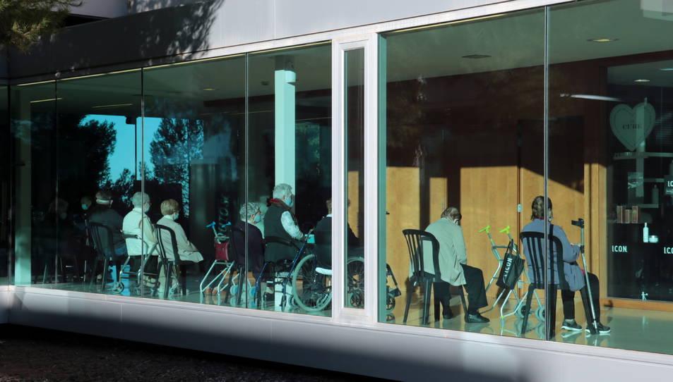 Imatge d'una residència catalana.