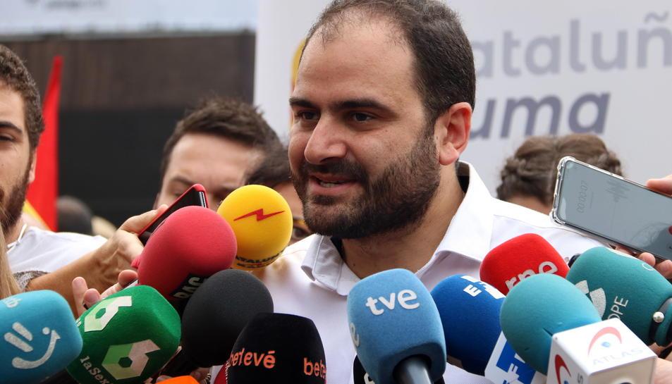 El president de Societat Civil Catalana (SCC), Fernando Sánchez Costa.