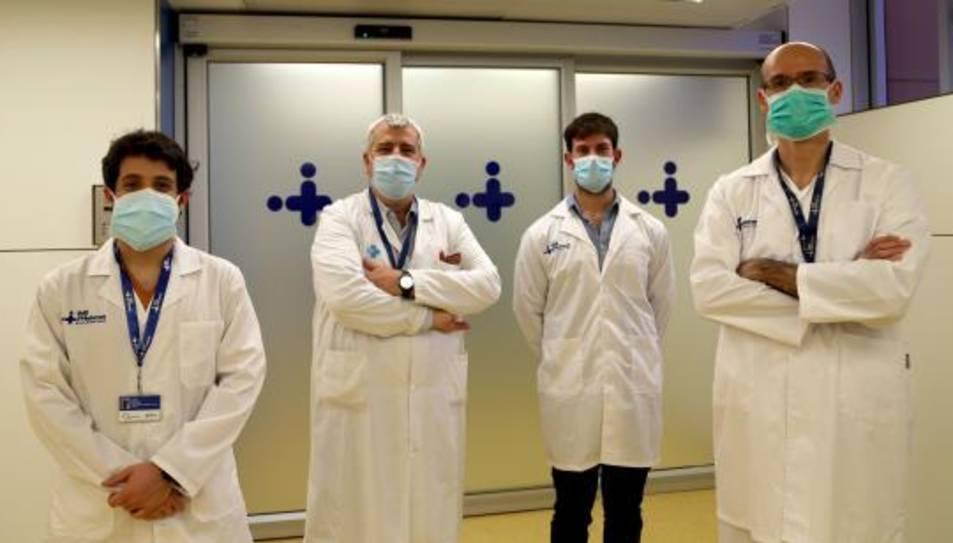 Investigadors que han dut a terme l'estudi.