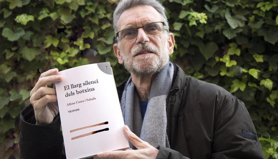 L'escriptor Alfons Cama en una imatge recent.