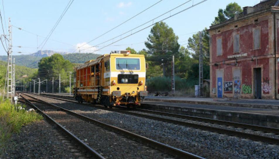 Estació de tren dels Guiamets, Priorat.