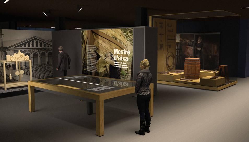 Projecte de museïtzació del Museu del Port de Tarragona.