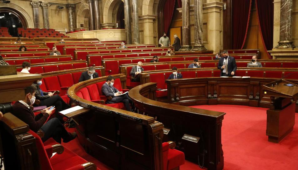 Imatge d'arxiu del Parlament, on el PP no té ara representació.