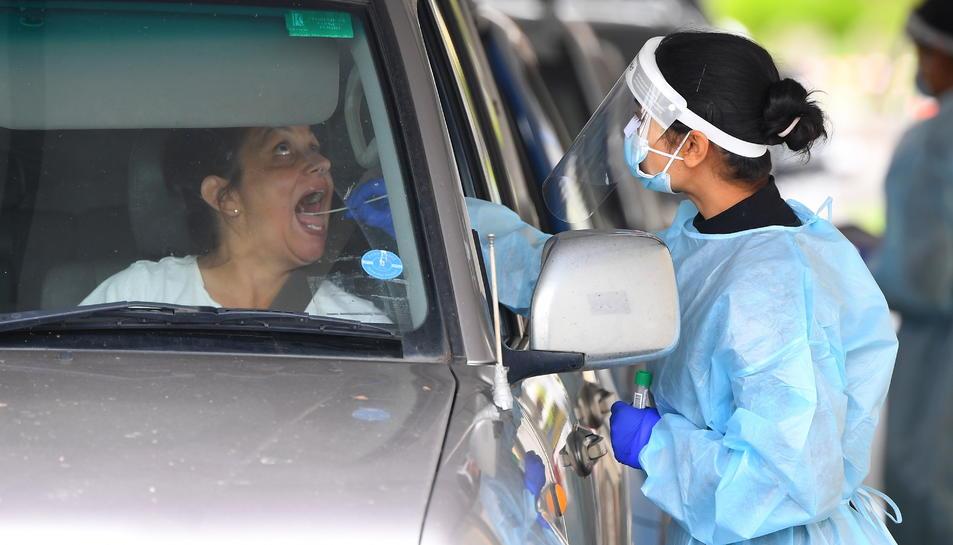 Amèrica ha superat la barrera dels 40 milions de contagis.