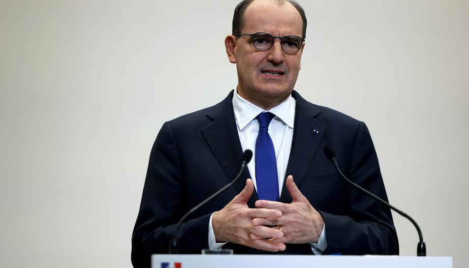 El primer ministre francès, Jean Castex.