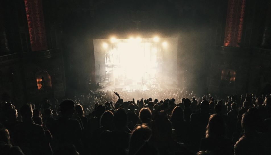Imatge d'arxiu d'un concert.
