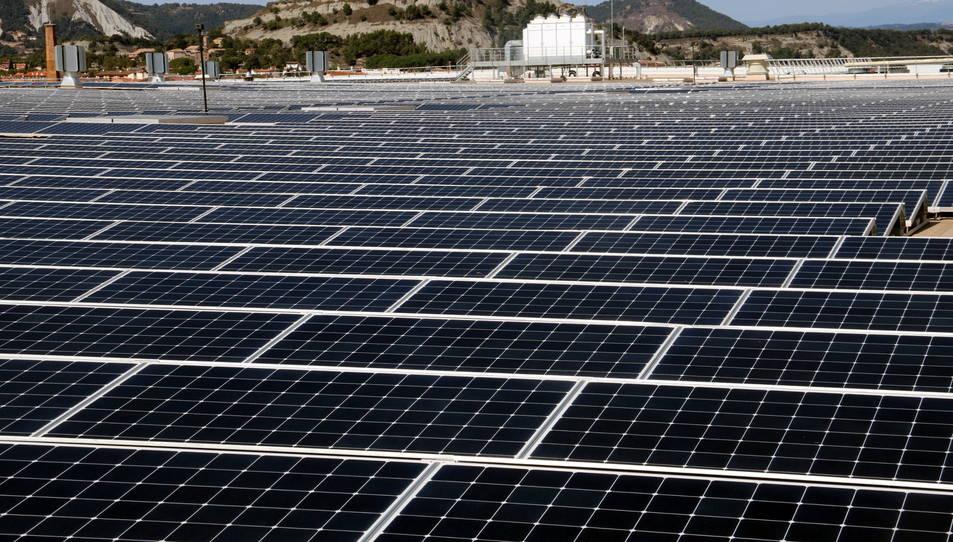 parc solar a Rasquera
