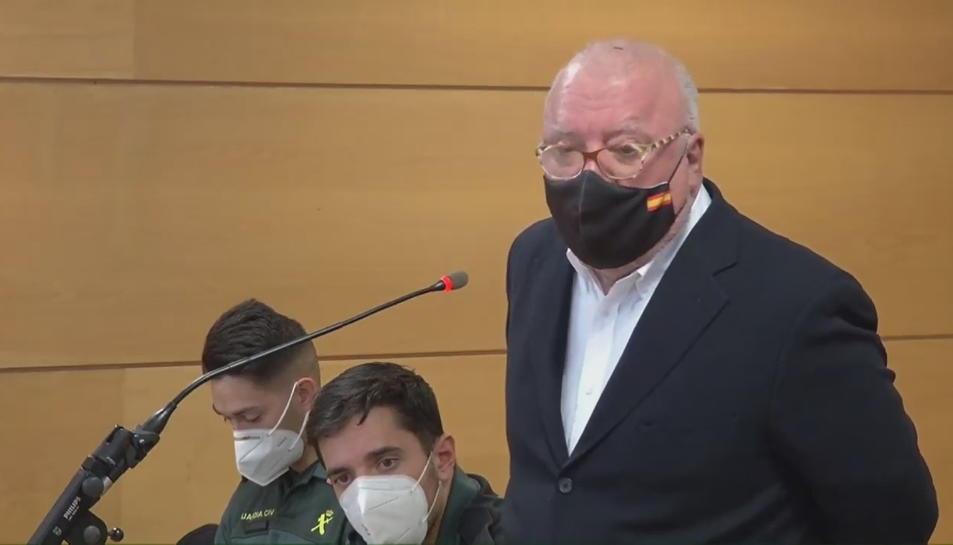 Pla mitjà de l'excomissari José Manuel Villarejo
