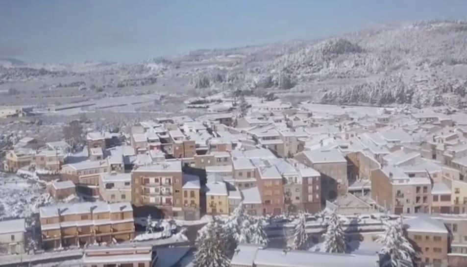 Captura d'una de les imatges del vídeo enregistrat a Prades.