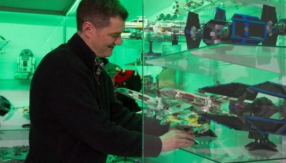 Rafael López i la seva col·lecció de Lego