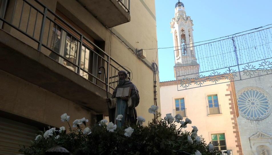 La imatge de Sant Antoni
