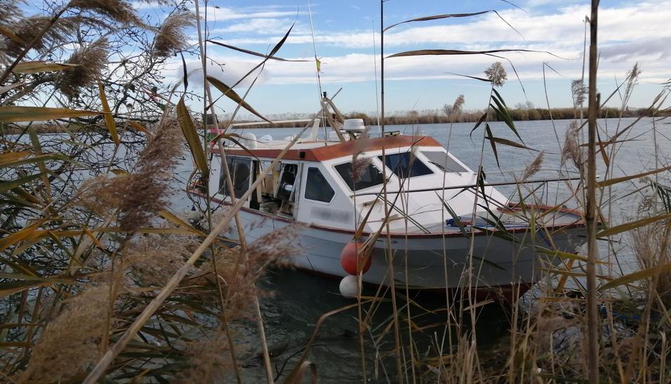 Imatge de l'embarcació.
