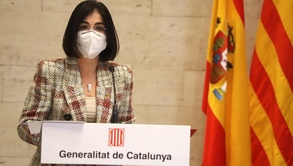 Imatge d'arxiu de la ministra de Política Territorial i Funció Pública, Carolina Darias.