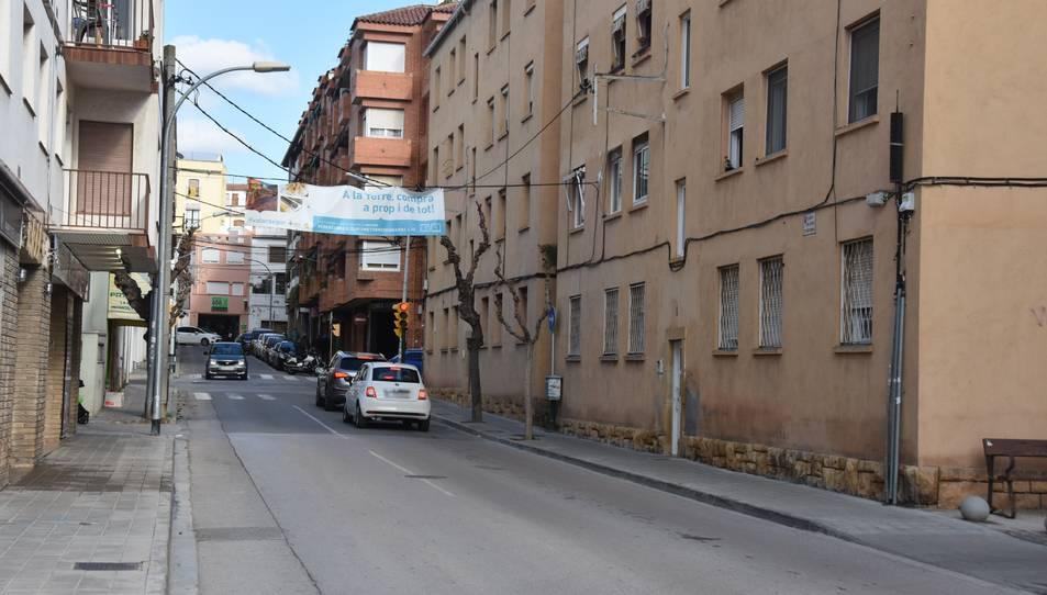 Imatge del carrer Onze de setembre.