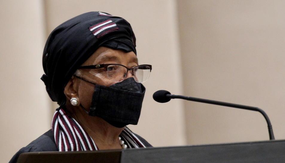 L'expresidenta liberianaEllenJohnsonSirleaf.