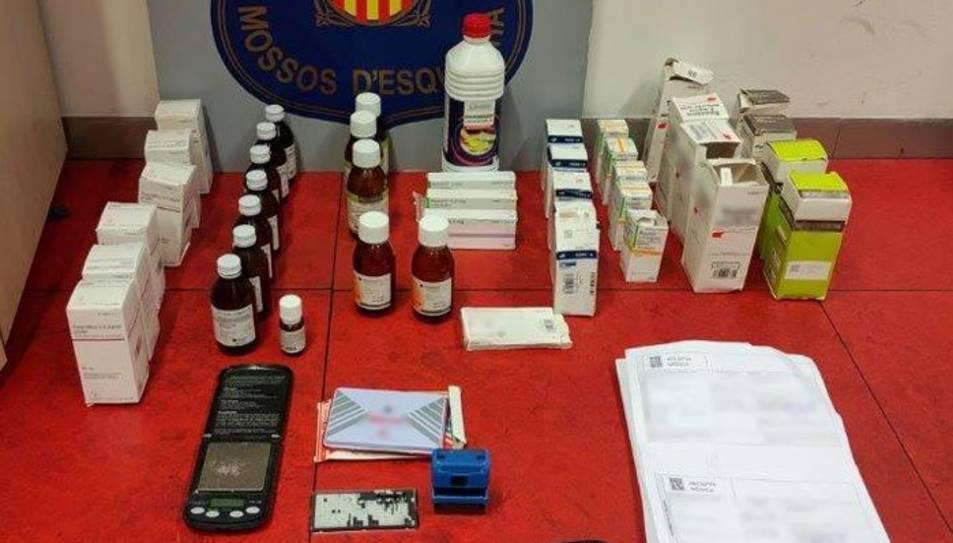 Medicaments intervinguts al detingut.