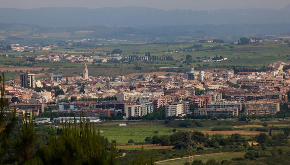 Vista general de Vilafranca del Penedès.