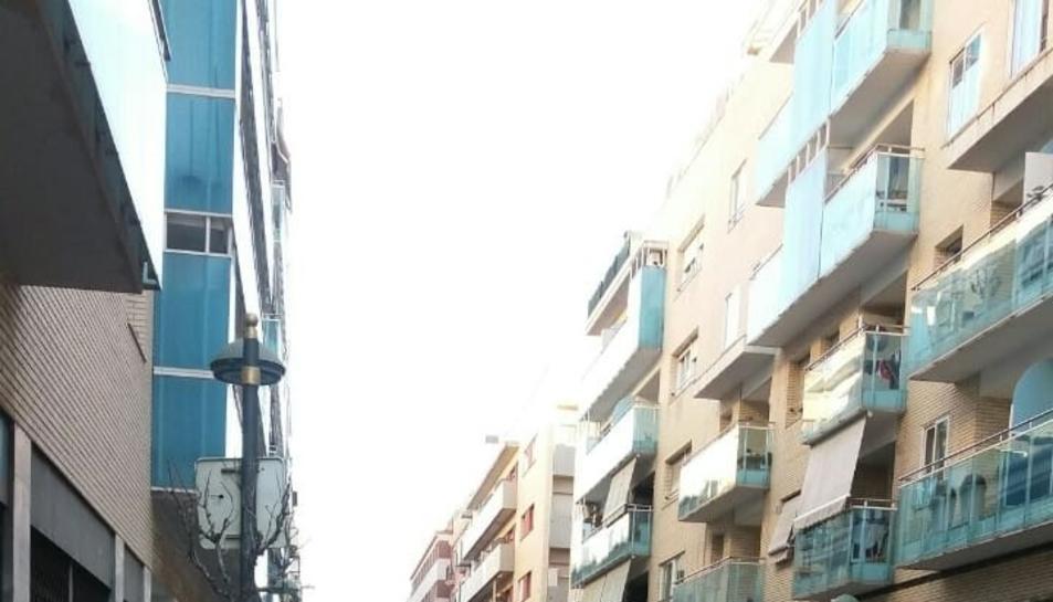 L'últim gran abocament a la via pública de Tarragona, el 14 de gener, al carrer Reial.