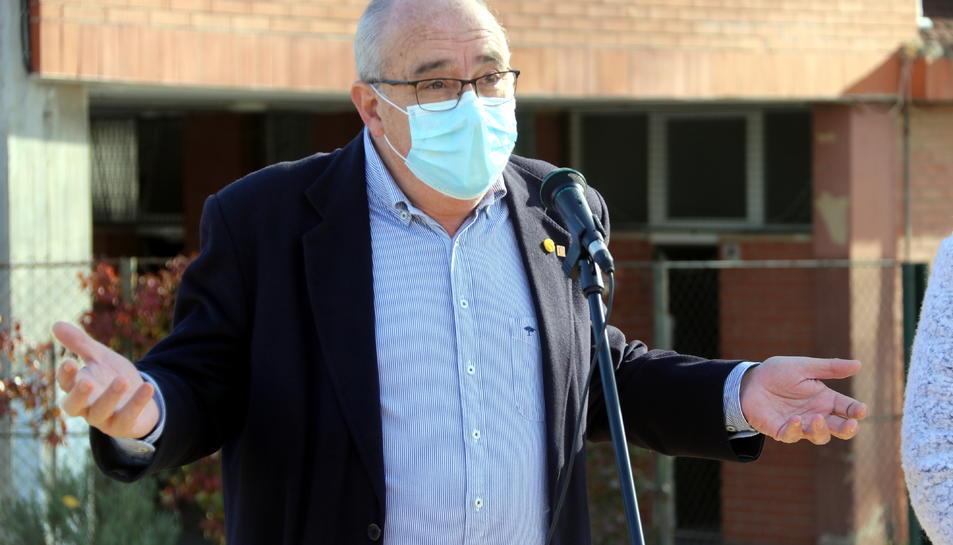 Imatge del conseller Bargalló