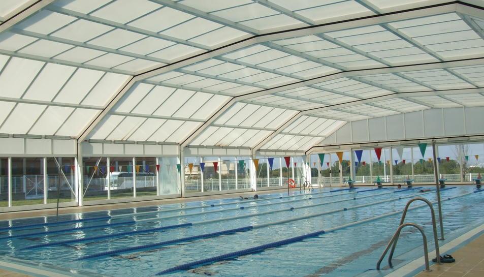 Imatge d'arxiu d'una piscina.