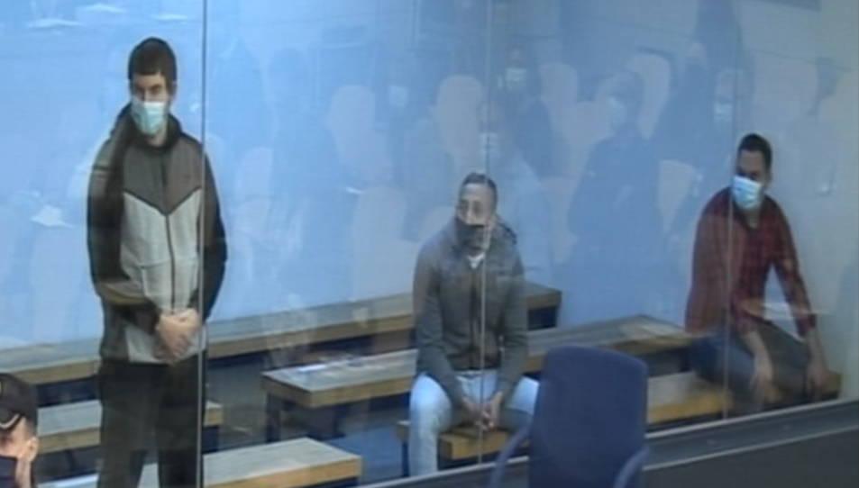 Judici del 17-A a l'Audiència Nacional amb els tres processats pel 17-A.